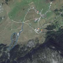 Carte du Plateau de Solaison