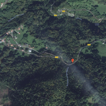 Carte Route de Brison