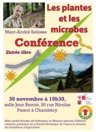 """Conférence """"Les plantes et le microbes"""" de Marc-André Selosse"""