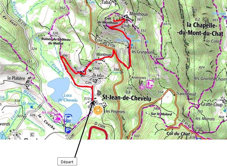 Saint-Jean du Chevelu, Savoie