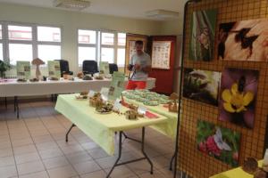 Salle exposition champignons 2019, Maison des association La Roche-sur-Foron