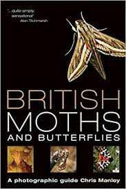 British Moths and Butterflies, Livre de Chris Manley en anglais